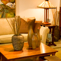 Stickley Furnature Showroom setup 2